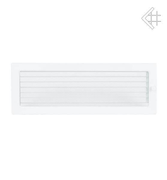 KRATKI ventilační mřížka 17x49 bílá s žaluzií