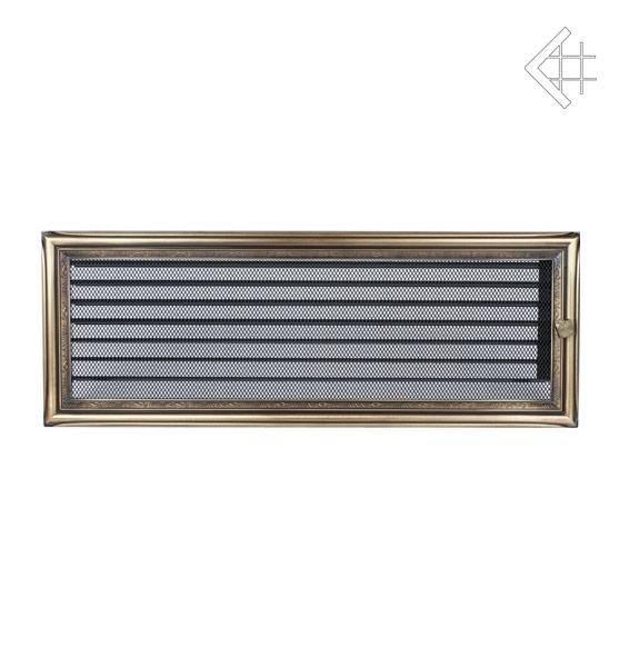 KRATKI ventilační mřížka 17x49 rustikální s žaluzií