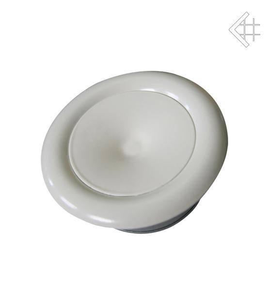 KRATKI talířový ventil, anemostat bílý
