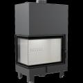 Kratki MBA 17 kW L BS teplovodní krbová vložka - levé boční prosklení DOPRAVA A ...