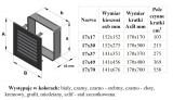 KRATKI ventilační mřížka FRESH 17x17 černá