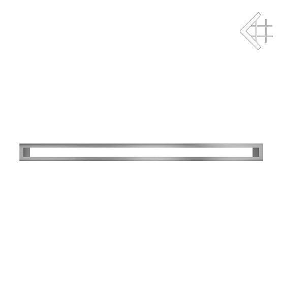 KRATKI mřížka TUNEL 6X100 cm nerezová