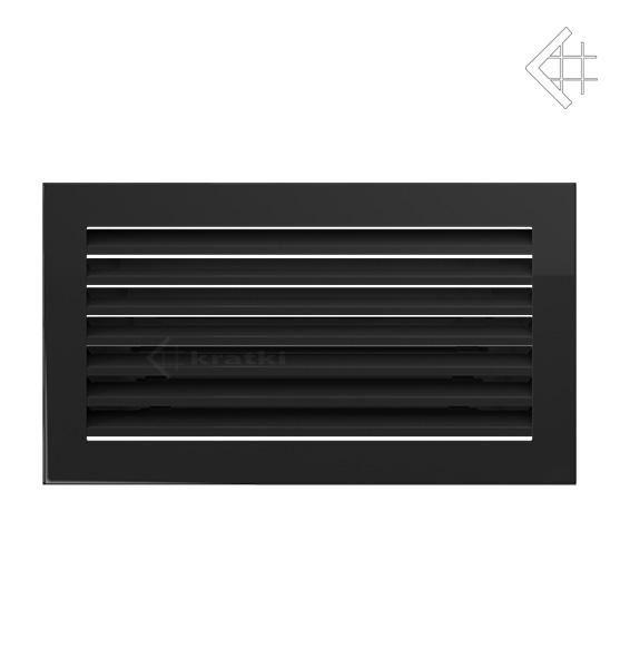 KRATKI ventilační mřížka FRESH 17x30 černá