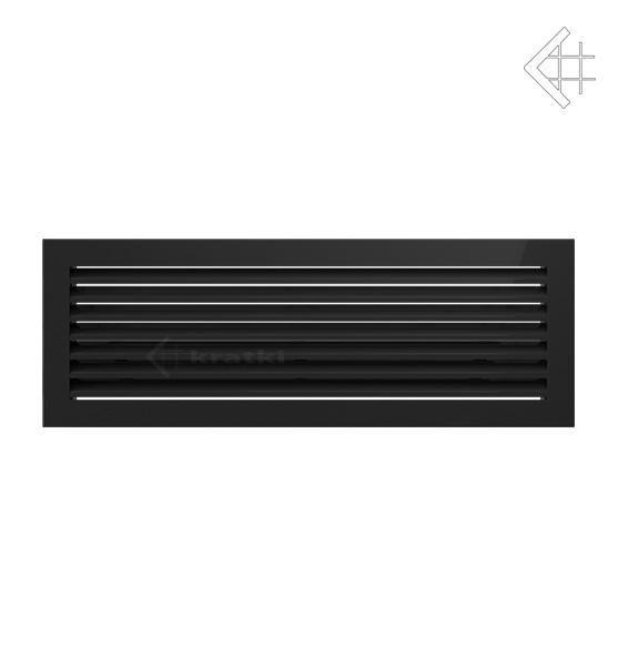 KRATKI ventilační mřížka FRESH 17x49 černá