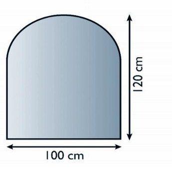 Lienbacher 21.02.880.2 sklo pod kamna, 8 mm
