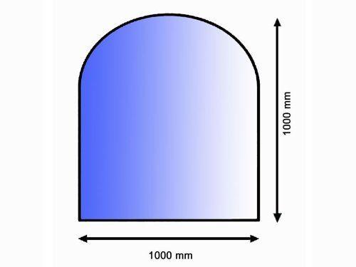 Lienbacher 21.02.881.2 sklo pod kamna, 8 mm