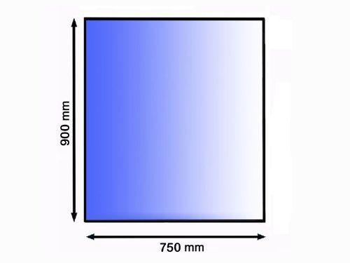 Lienbacher 21.02.898.2 sklo pod kamna, 8 mm