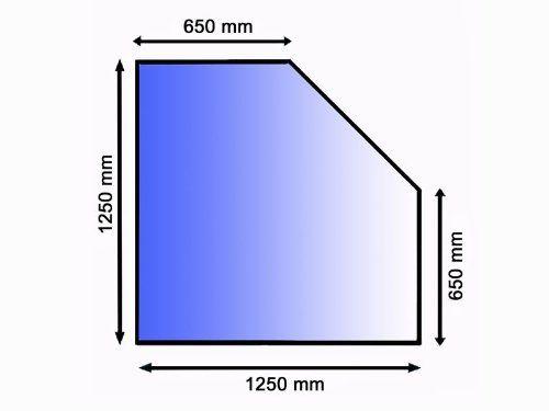 Lienbacher 21.02.983.2 sklo pod kamna, 8 mm
