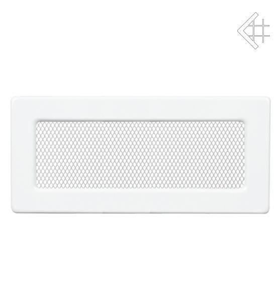 KRATKI kovová ventilační mřížka 11x32 lakovaná bílá