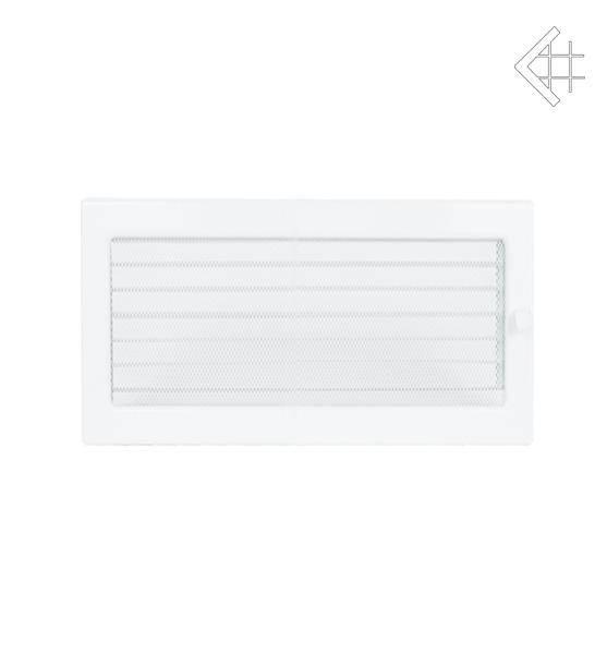 KRATKI ventilační mřížka 22x45 bílá s žaluzií