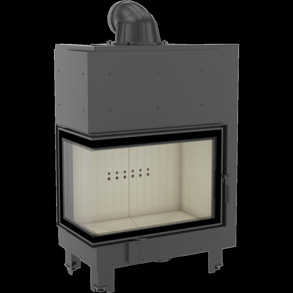 Kratki Krbová vložka MBA 17 kW L BS SG levé boční prosklení, ohýbané sklo - DOPRAVA ZDARMA