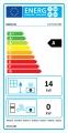 KRATKI LUCY 14 L BS levé boční sklo teplovzdušná krbová vložka s externím přívodem vzduchu DOPRAVA ZDARMA
