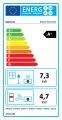 KRATKI NADIA 10 rovné sklo teplovodní krbová vložka se smyčkou DOPRAVA ZDARMA