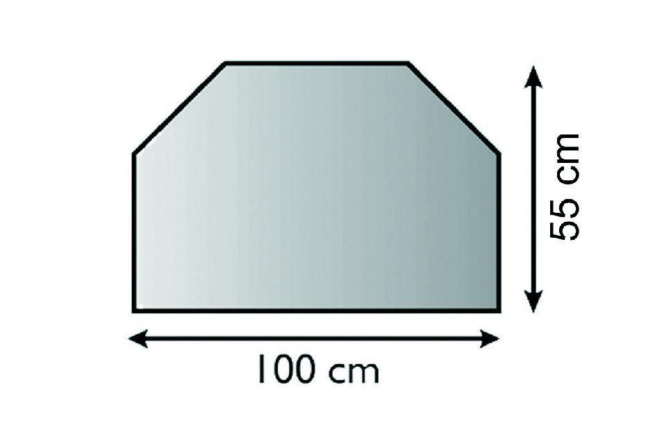 Lienbacher 21.02.871.2 sklo před kamna, 6 mm