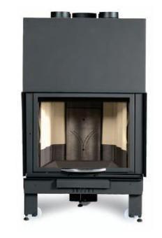 Krbová vložka Monoblok Crystal Ironker 750 přímá s výsuvem skla DOPRAVA A KOUŘOVODY ZDARMA La Nordica