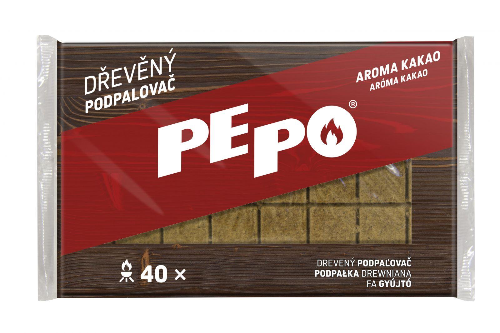 PE-PO podpalovač dřevěný