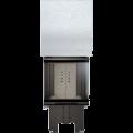 teplovzdušná krbová vložka Kratki NBC 8 500/500 Gilotina třístranné prosklení s výsuvem DOPRAVA ZDARMA