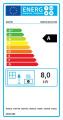 Kratki litinová teplovzdušná krbová vložka SIMPLE M/S 8 BS pravé boční prosklení