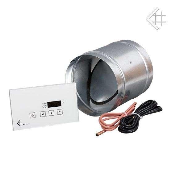 KRATKI automatická regulace spalování MSK Glass s dotykovým displejem