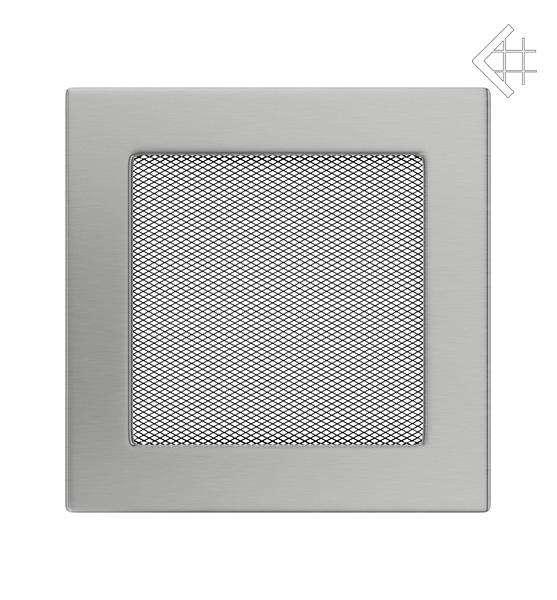 KRATKI ventilační mřížka 17x17 nerezová
