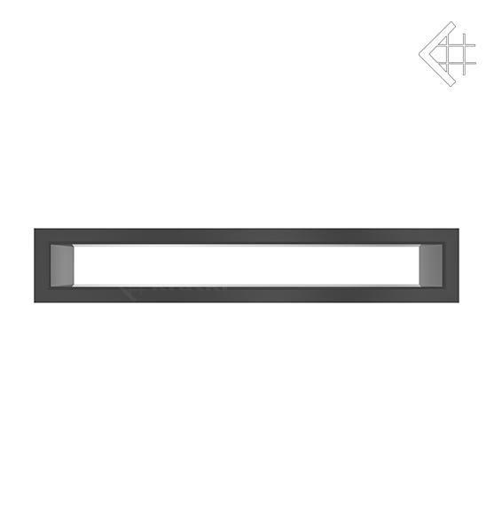 KRATKI mřížka TUNEL 6X40 cm černá
