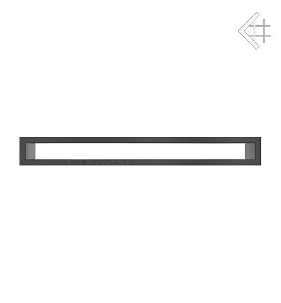 KRATKI mřížka TUNEL 6X60 cm černá