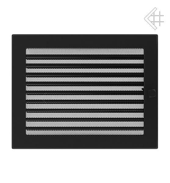 KRATKI ventilační mřížka 22x30 černá s žaluzií