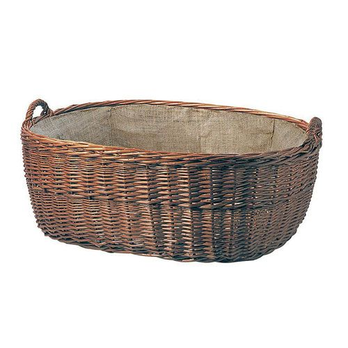 LIENBACHER - proutěný koš s tkaninou 21.02.604.2