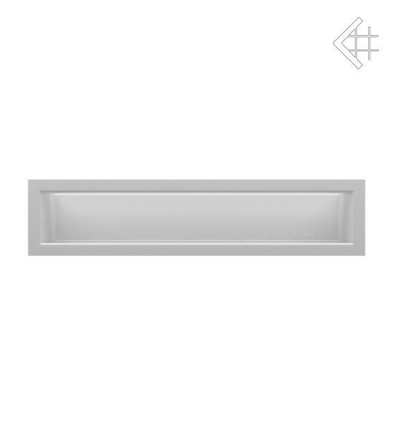 KRATKI mřížka LUFT 9X40 cm bílá