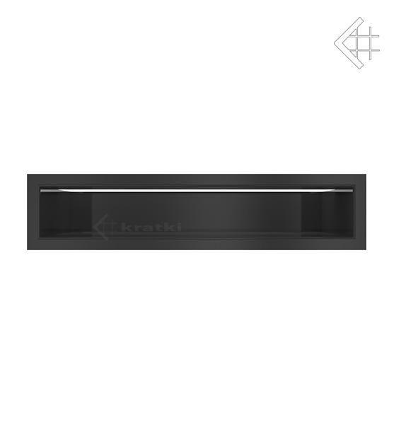 KRATKI mřížka LUFT 9X40 cm černá