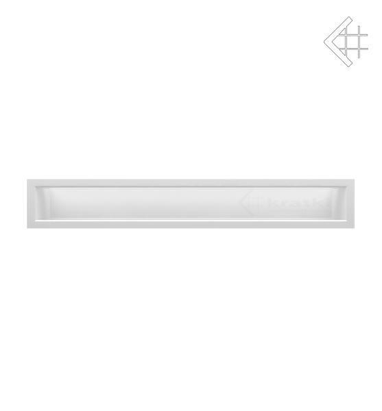 KRATKI mřížka LUFT 9X60 cm bílá