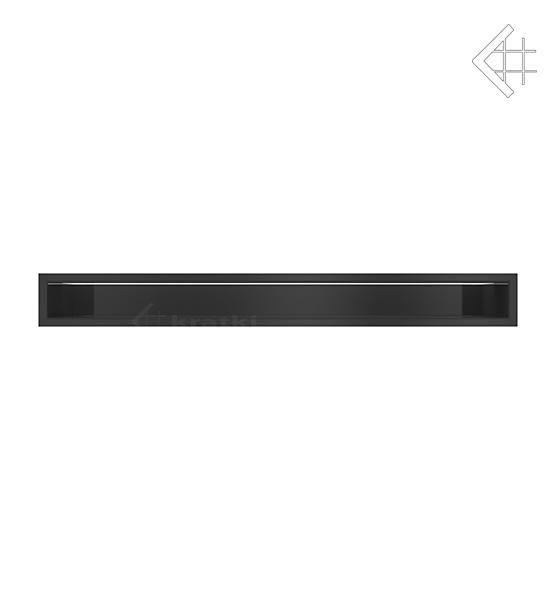 KRATKI mřížka LUFT 9X80 cm černá