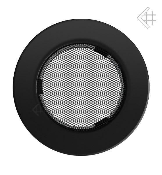 KRATKI ventilační mřížka kulatá ∅100mm černá