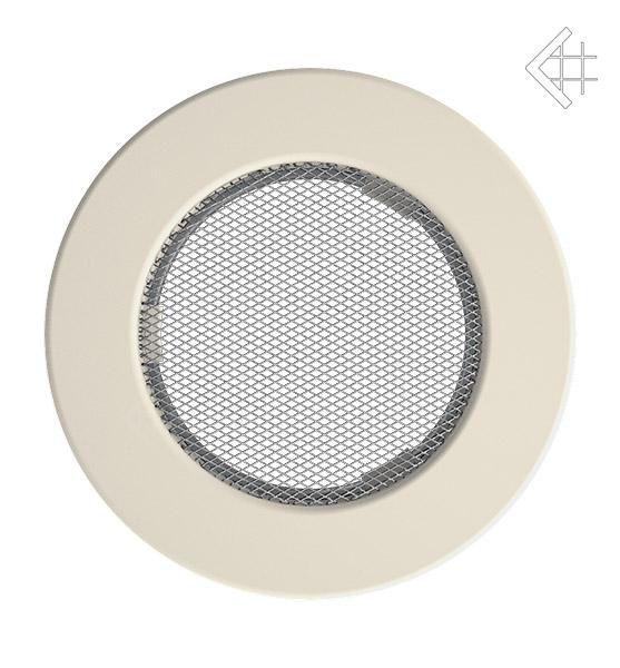 KRATKI ventilační mřížka kulatá ∅100mm krémová