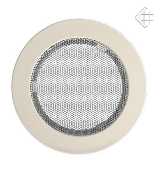 KRATKI ventilační mřížka kulatá ∅150mm krémová